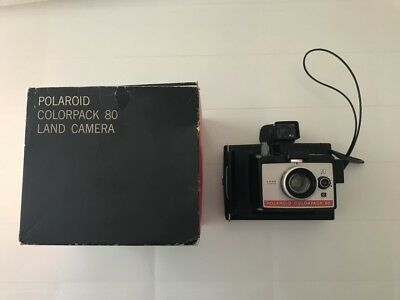 Vintage Collectable Polaroid Instant Film Colorpack 80 Land Camera with Flash