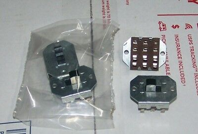 (2) H H Smith 4PDT Slide Switch   Ham radio & Hobbyists