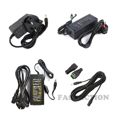 AC100-240V TO DC 24V 12V 1A 2A 3A 5A LED Power Supply Adapter Transformer Plug
