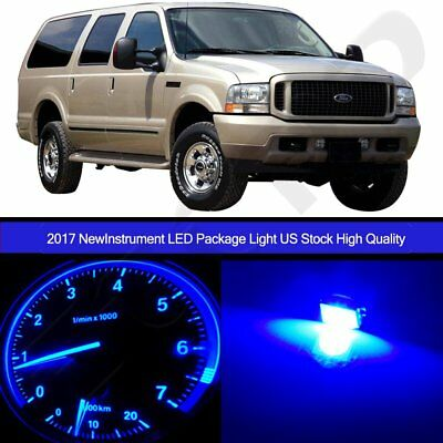 For   Ford Excursion Dashboard Instrument Interior Light Bulbs Led Set Pcs