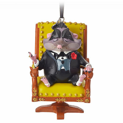 Disney  2018 Sketchbook  Mr Big Christmas Ornament Zootopia - New In Box Tagged