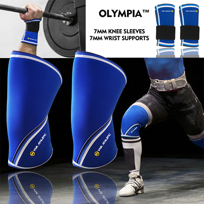 Knee Sleeves Patella Leg Wrist Straps Wraps Sbd Gym Strong Olympia 7mm Mix&Match