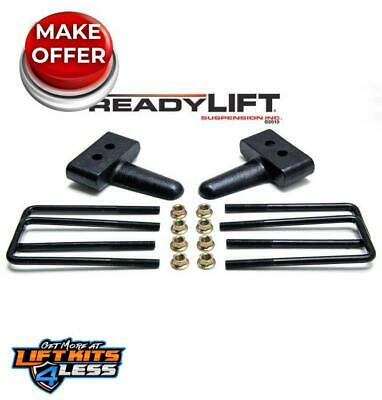"""ReadyLift 66-2051 1.5"""" Rear Block Kit for 2004-2019 Ford F-150 2WD Gas/Diesel"""