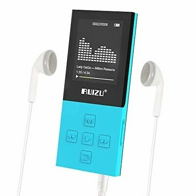 X18 Mp3 Player with Bluetooth, Music Player with FM radio, 100hrs Playback
