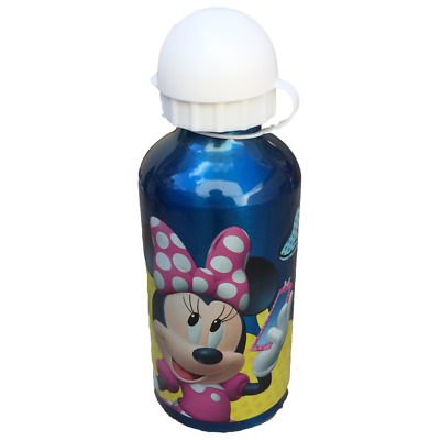 Borraccia Minnie Mouse Disney Sport In Alluminio Beccuccio Ml. 500 - Wd19493/1