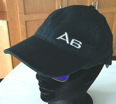 Audi Hat Chrome A6 Racing Strapback Baseball Cap Owners Black Auto's Cars Caps