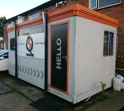 16ft 2inch x 8ft 4inch Portable Office/ Portable Cabin/Used for Motor Trade