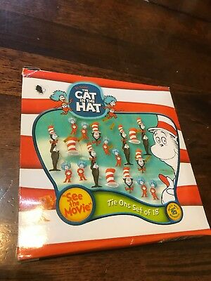 Dr. Suess The Cat In The Hat Mini Ornaments Set Of 18