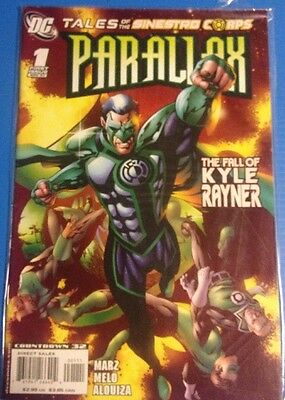 PARALLAX Final Night Nov 96  1 Tales Of The Sinestro Corps 07 lot of 2 DC comic