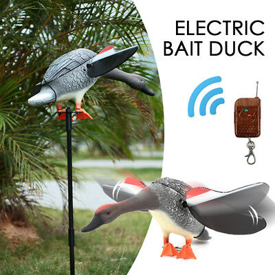 10BC Motor-Driven Hunting Decoys PE Decoying Garden Hunting Hunting Duck Decoy