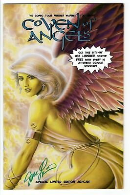 Coven of Angels #1 (Nov 1995, Jitterbug Press) Ashcan Edition Signed by Linsner