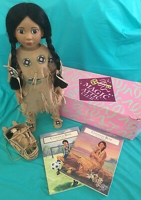 NEW Magic Attic Club Doll. Rose / Cheyenne. Native American / Indian Outfit.