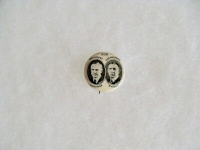 Whitehead & Hoag Coolidge & Dawes Presidential Campaign Pin