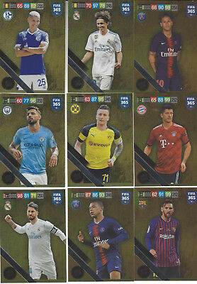 Panini Adrenalyn XL Fifa 365 Limited Edition FIFA 2019 Cards choose aussuchen
