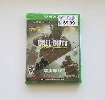 Call of Duty Infinite Warfare Legacy Edition (Xbox One) BRAND NEW COD SEALED
