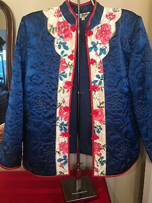 Vintage Quilted Short Chinese Jacket