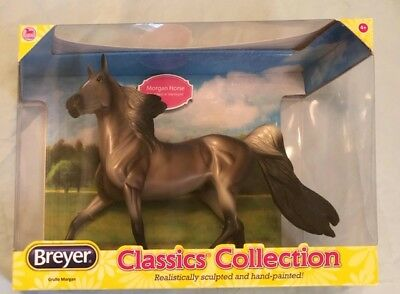 Breyer Reeves Classics #936 Grullo Morgan Stallion Horse Model Figure
