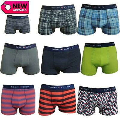 8ef107080d62 Tommy Hilfiger Men's Boxer Underwear Trunk Shorts 3-Pack Cotton Stretch All  Size