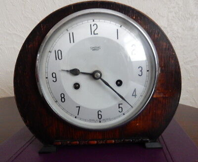 Antique Vintage Smith Enfield Chimes Clock