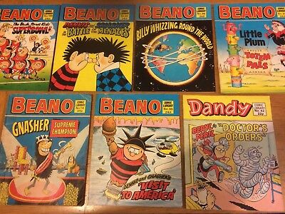 Beano and Dandy Comic Library job lot
