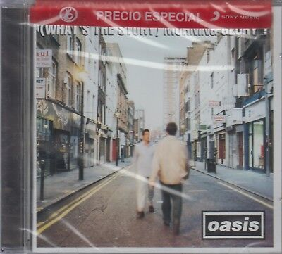NEW - What's the Story Morning Glory CD Oasis SHIPS NOW !
