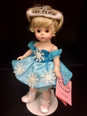 """FROSTY BALLERINA 69920 by Madame Alexander 8"""" Jointed Doll & FREE Stand - NEW!"""