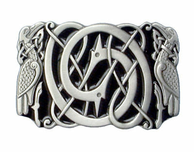 Celtic Bird Belt Buckle