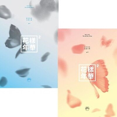 BTS PT1 4th Album [In The Mood For Love] CD+Poster+PhotoBook+M.Book+Card+Sticker