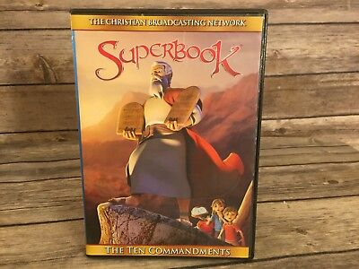 Superbook The Ten Commandments The Christian Broadcasting Network 2012 DVD