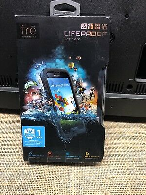 Lifeproof Case for Samsung Galaxy S4 FRE Genuine Shock Waterproof Black 1807-01