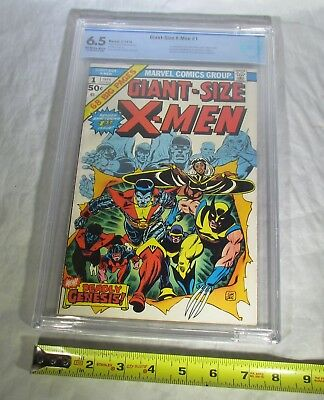 GIANT-SIZE X-MEN #1 MARVEL 1975 CBCS GRADED 6.5 1st App.STORM & COLOUSSS+ MORE