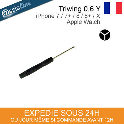 Outil Tournevis Triwing Y0.6 Y000 0.6 Y Iphone 7 8 Plus X 10 Apple Watch