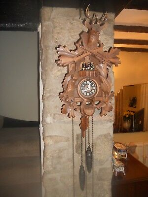 Vintage German Cuckoo Clock - for spares or repairs