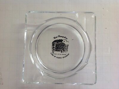 State Capital Concord Vintage Ashtray, New Hampshire
