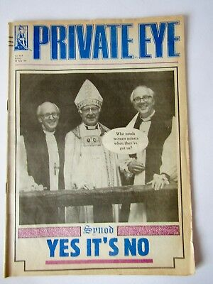 Private Eye Issue No.641 11th July '86 A Great Gift for Someone Born on That Day