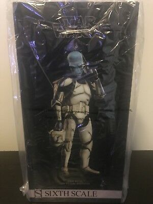 Star Wars Sideshow Clone Trooper Bounty Hunter Cad Bane in Denal Disguise