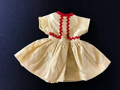 "Vintage Original 1950's Ideal 12"" Shirley Temple Doll Clothes Dress"