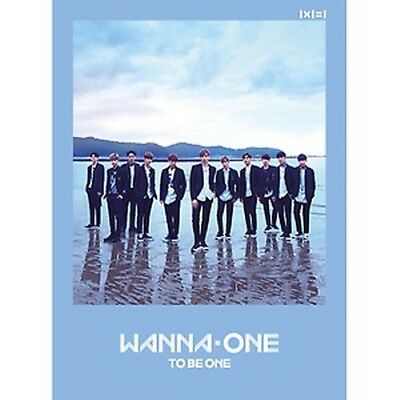 KPOP Wanna One 1st Mini Album To Be One CD+Poster+PhotoBook+M.Book+Card+Sticker