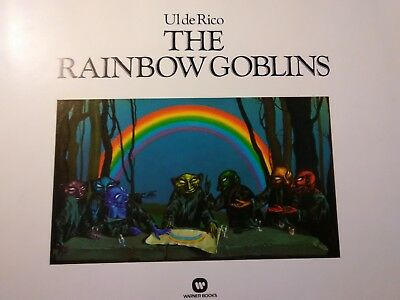 THE RAINBOW GOBLINS by Ul De Rico  ILLUSTRATED-(1978, Hardcover)