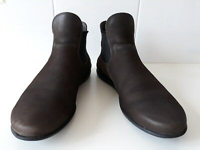 bottines petits talons marrons nubuc