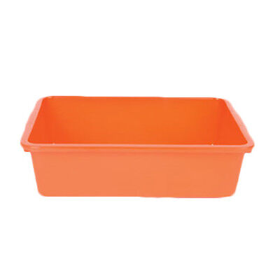 """Thunder Group PLDB005 17-5/8""""Wx13-5/8""""Dx4-7/8""""H (1) Compartment Plastic Bus Tray"""