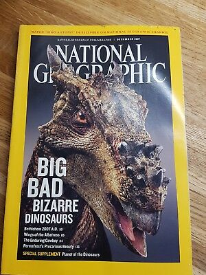 National geographic magazine - December 2007