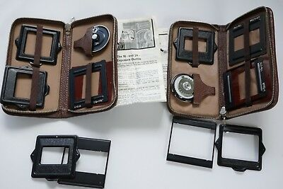 Vintage Rolleicord 16 and Vb 24 exposure  frame adapters