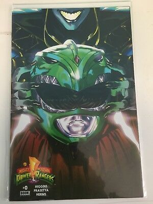 Mighty Morphin Power Rangers #0 2nd Printing Variant