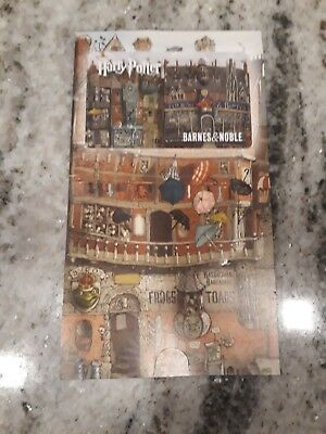 HARRY POTTER Barnes & Noble Gift Card - LONG card -  No Value Collectible New