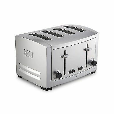 All-Clad TJ804D Stainless Steel 4 Slot Toaster Silver