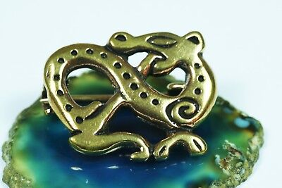 Viking Brooch Bronze Dragon Bronzeschmuck Viking Jewellery Dragon Jewelry