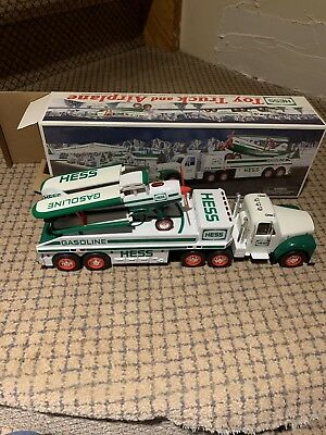 Hess Toy Truck and Airplane (2002) with Original Box