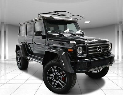 2018 G-Class G 550 G Wagon 4x4² Squared, Perfect!  Blacked Out 2018 Mercedes-Benz G-Class G 550 G Wagon 4x4² Squared, Perfect! Blacked Out
