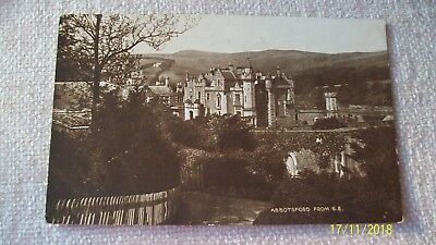 Postcard -- Abbotsford From S.e.